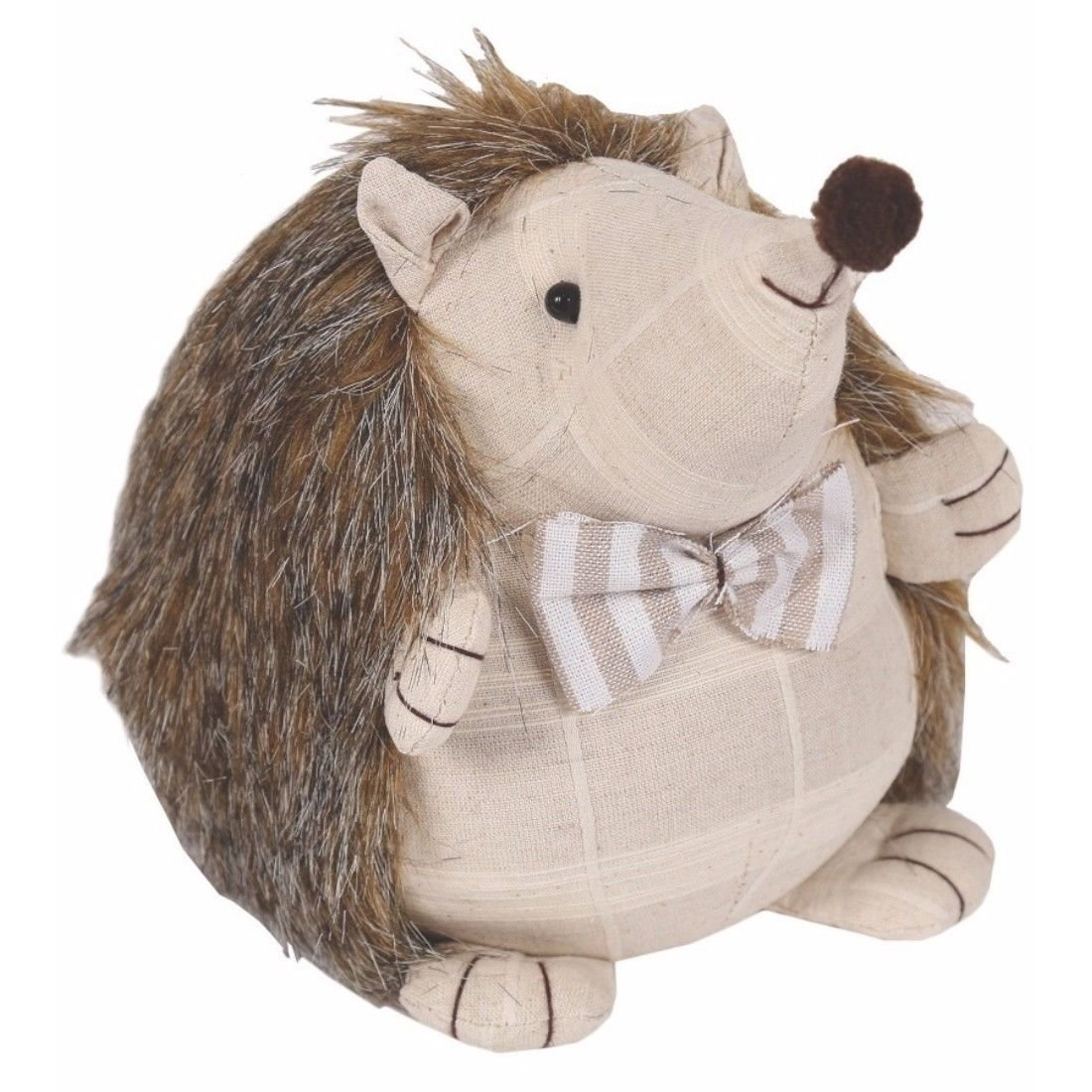 Fabric Hedgehog Doorstop 20cm