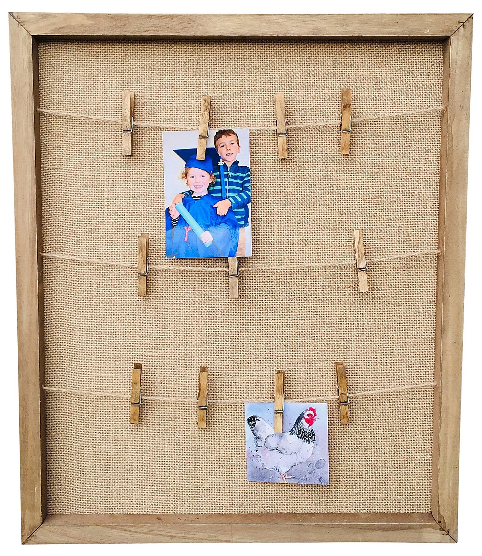 Rustic Wooden Notice Board