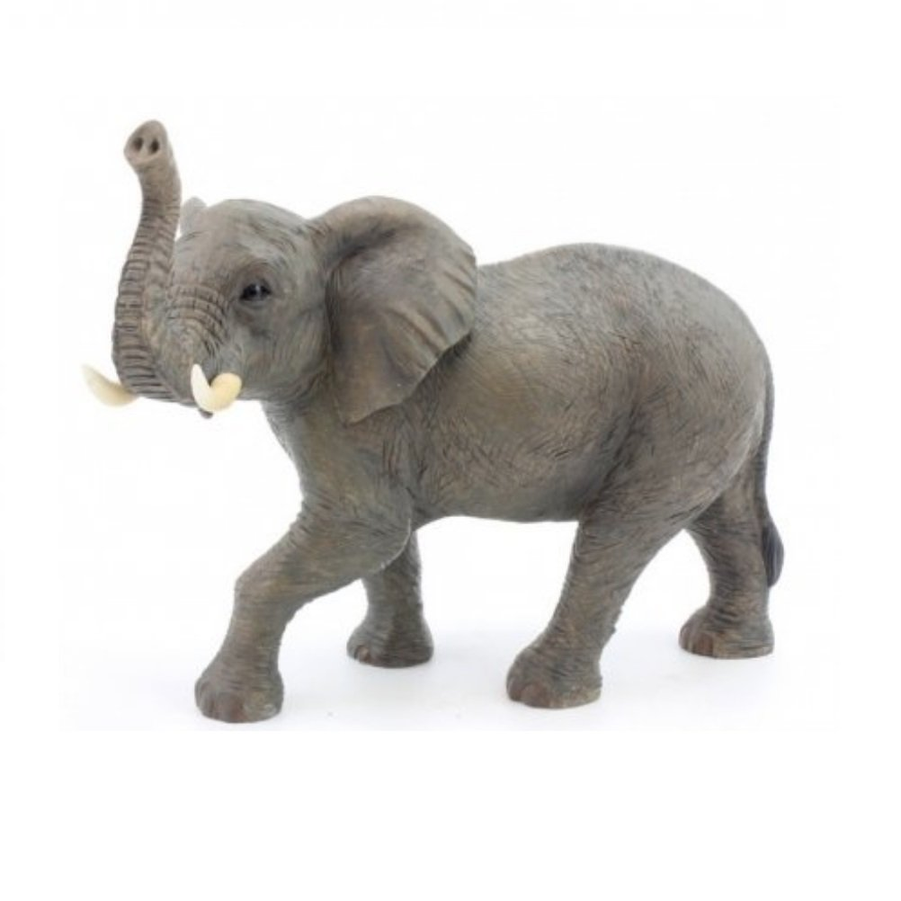 Standing Elephant Figure - Large