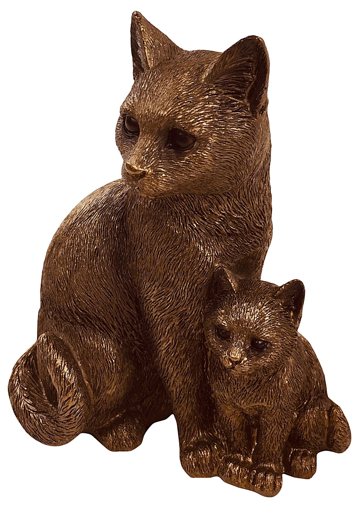 Reflections Bronzed Cats 13cm