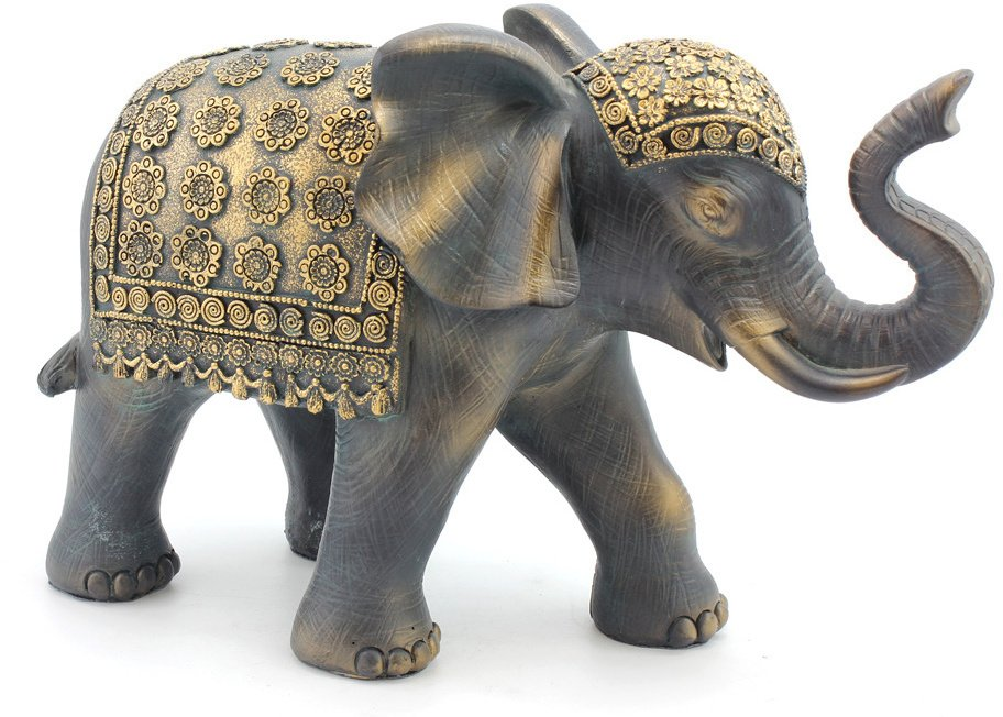 Exotic Art Black Elephant