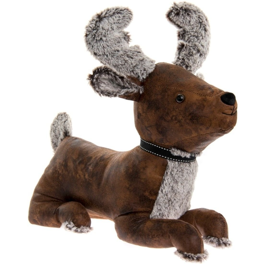 Faux Leather Stag Doorstop