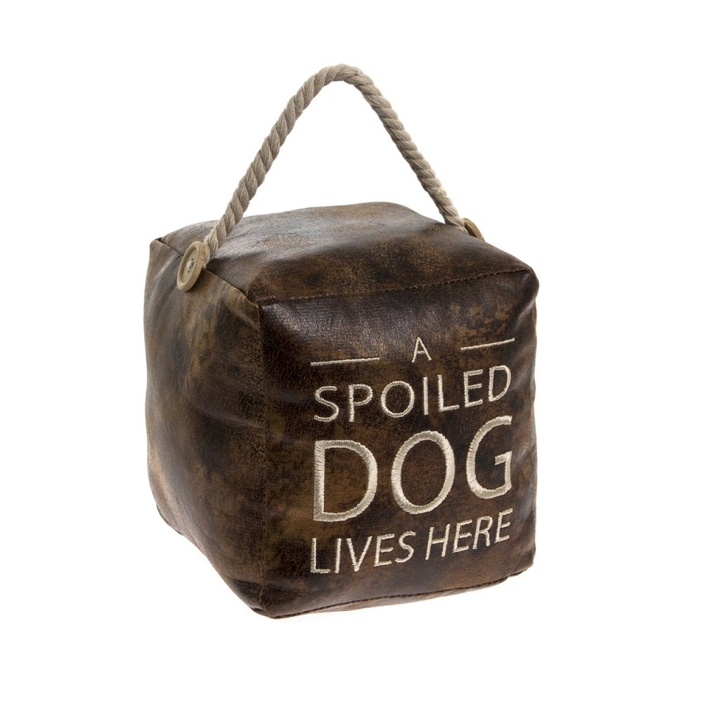 Spoiled Dog Square Doorstop