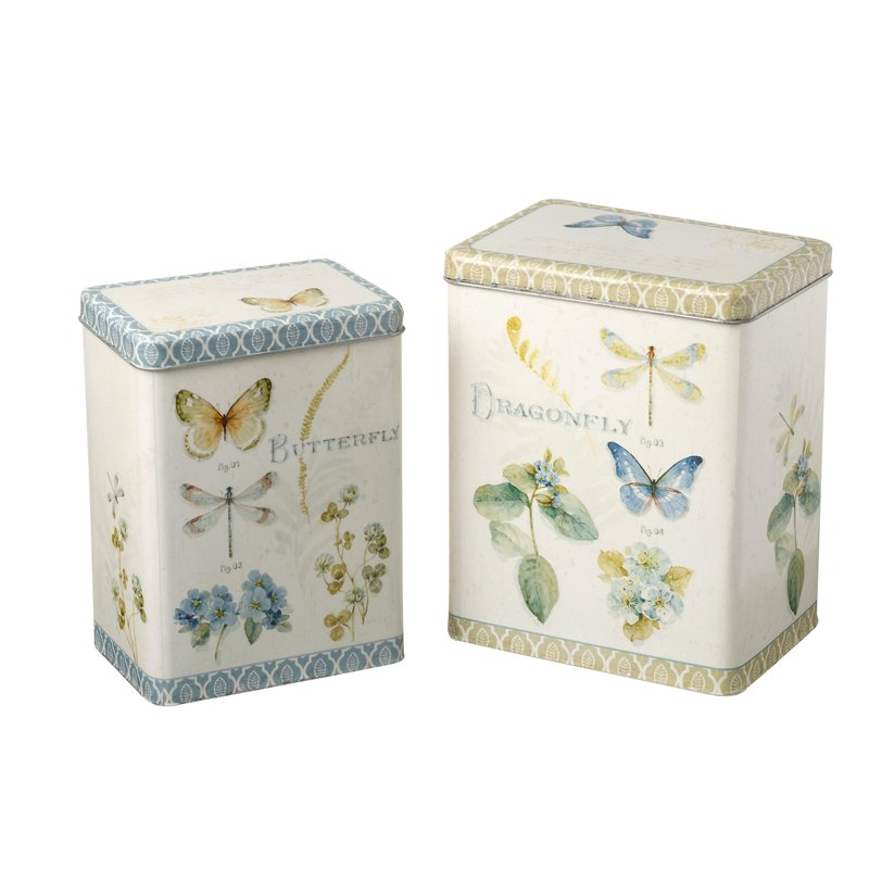 Set of 2 Butterfly/Dragonfly Boxes