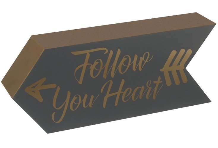 Follow Your Heart Arrow