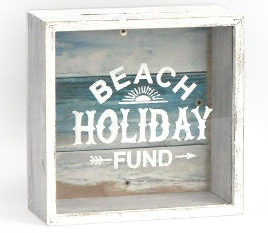 Holiday Fund Money Box 18cm