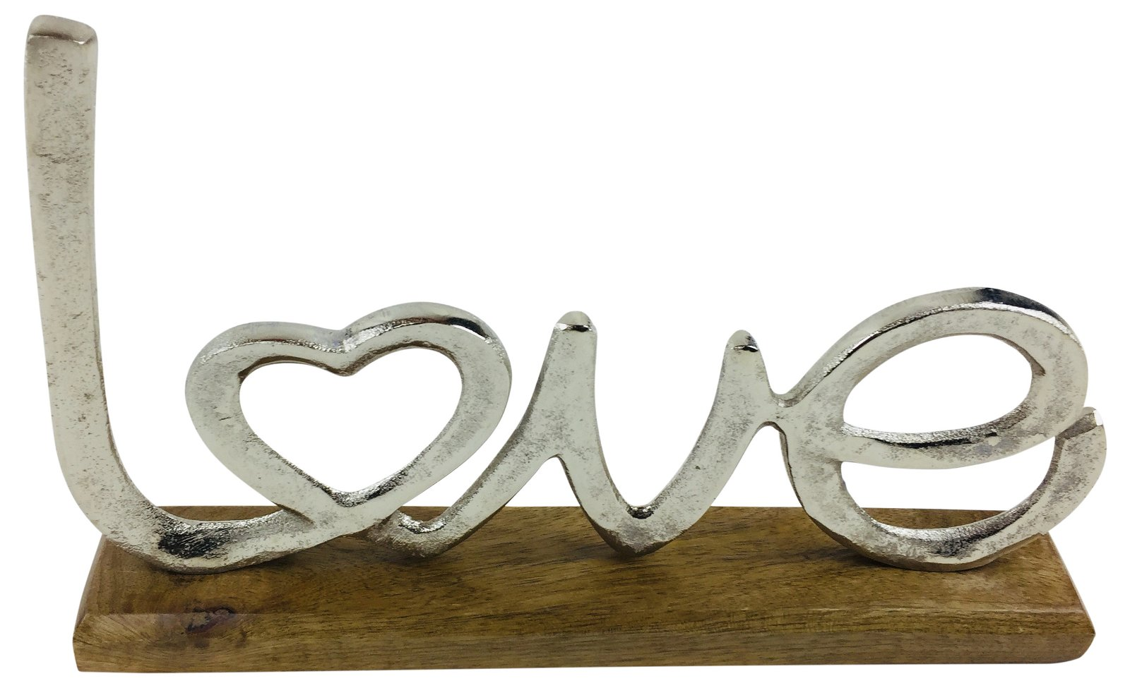 Metal Love Letter Ornament