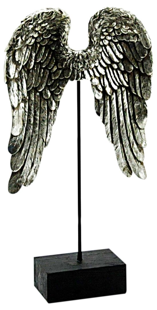 Resin Wings On Stand 53cm