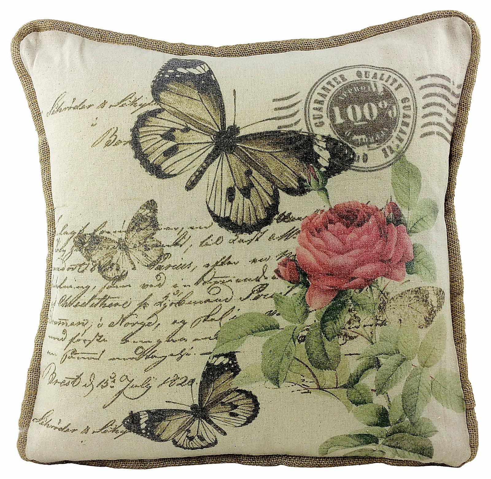 Butterfly Design Cushion 45cm
