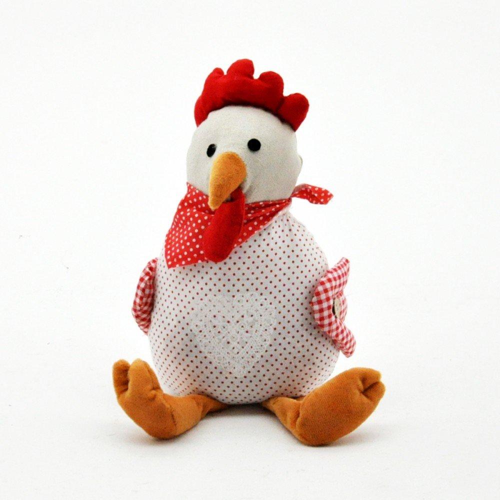 Fabric Chicken Doorstop 30cm