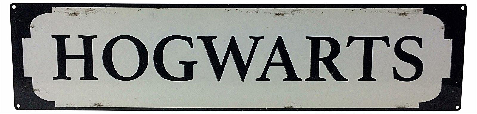 M4600Metal Street Sign HOGWARTS 70cm x17cm
