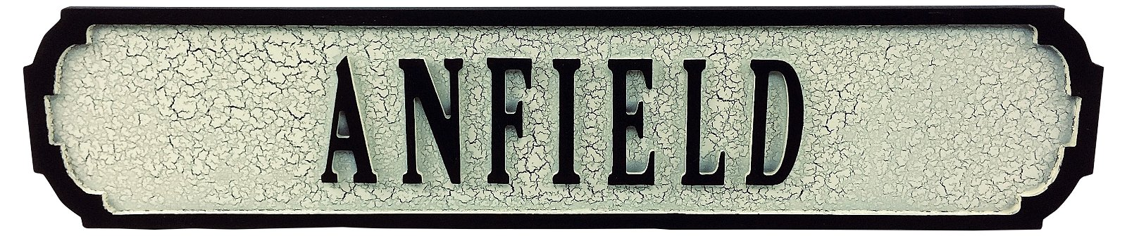 Anfield Road Sign 80cmx15cmx1.5cm