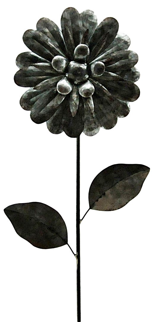 Metal Garden Flower 85cm