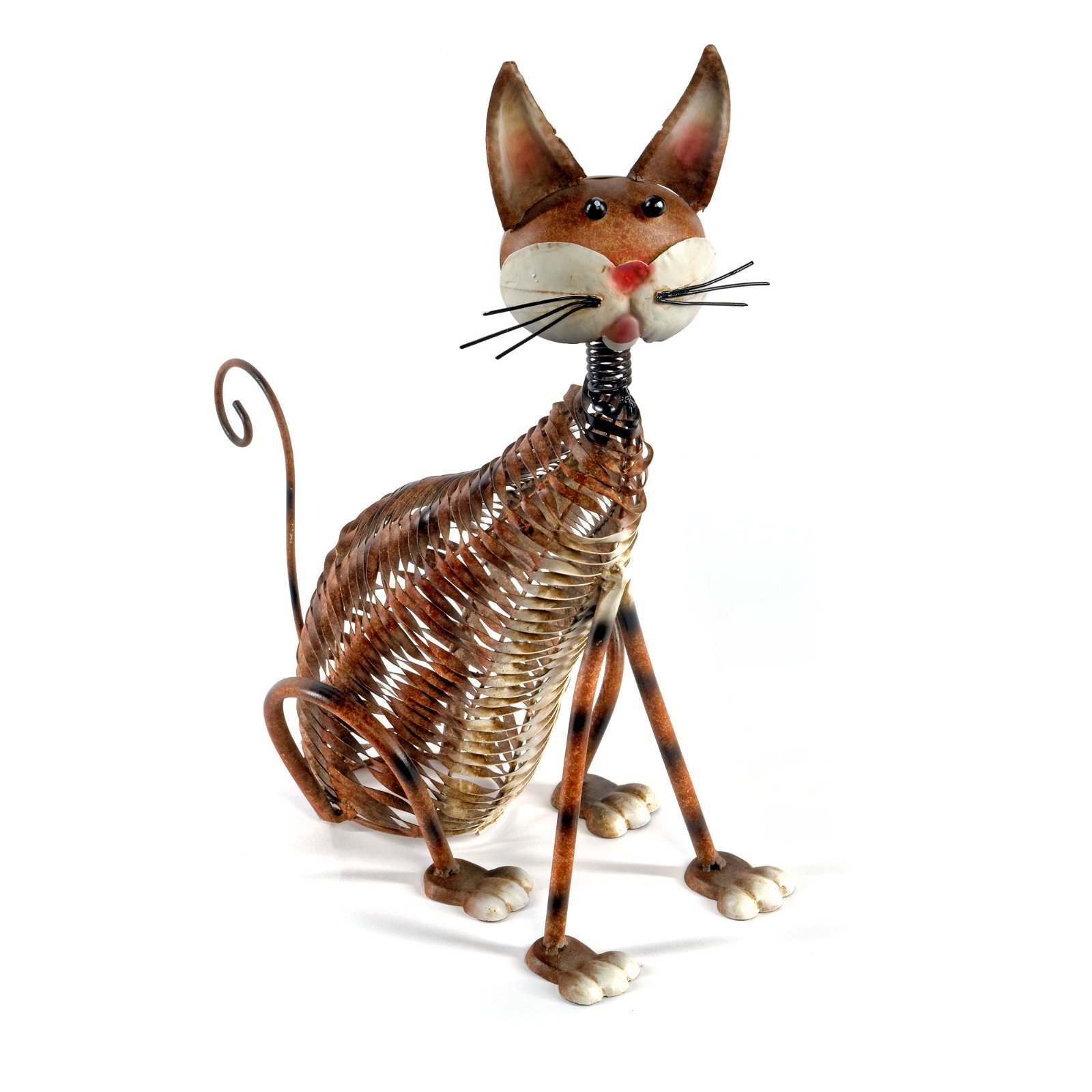 Metal Painted Cat