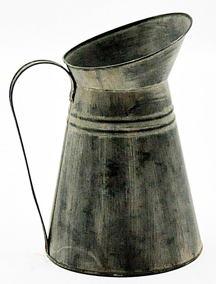 Galvanised Metal Jug 32cm