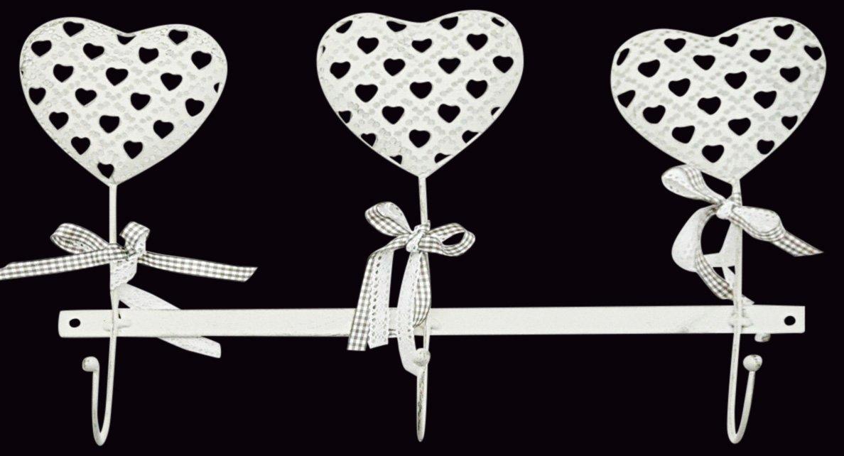 Heart Design Wall Heart Hooks