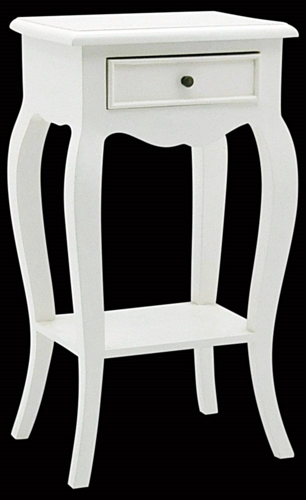 French Ivory Mahogany Side Table 71x38x28cm