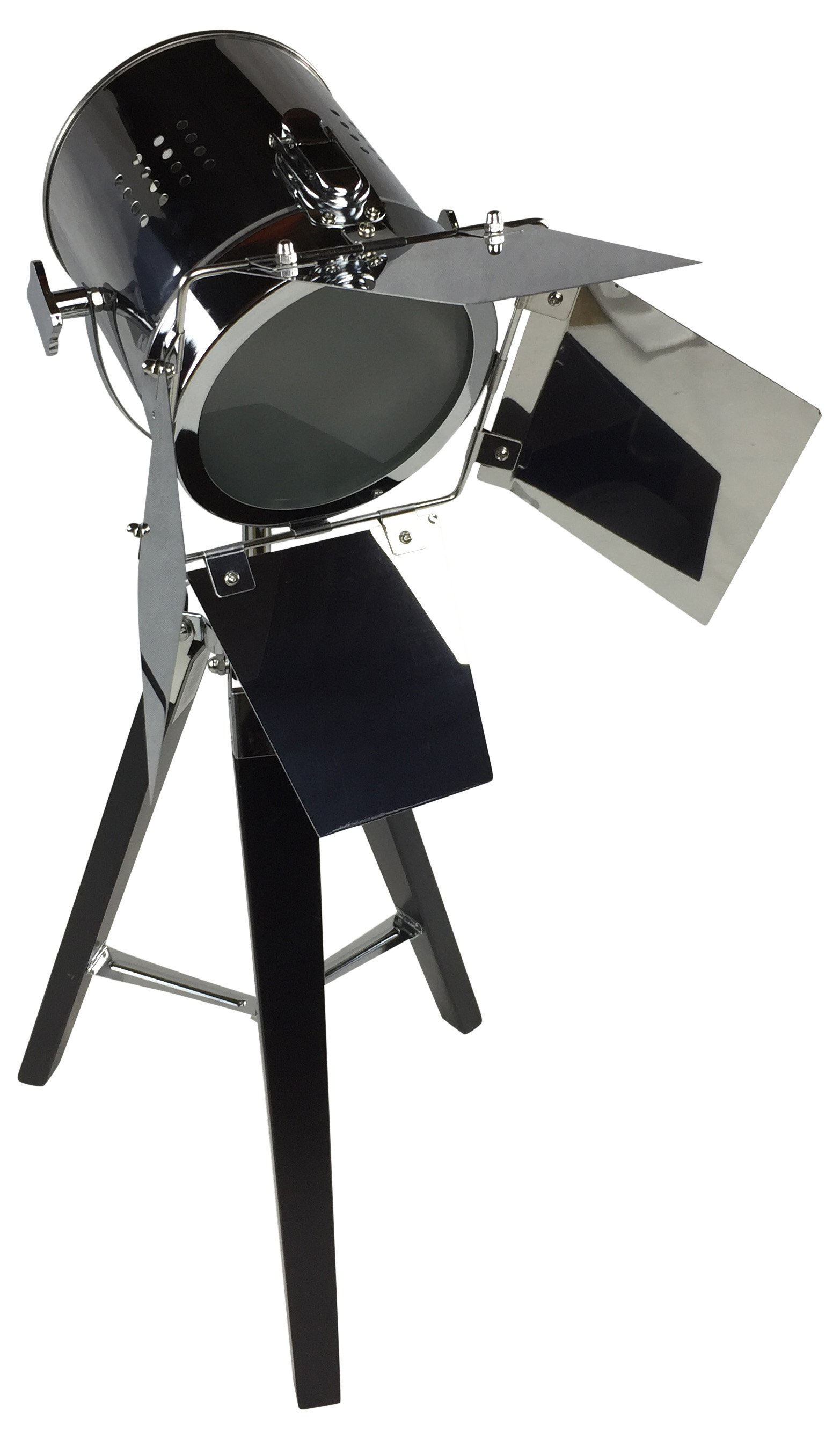 Black Tripod Lamp 70cm