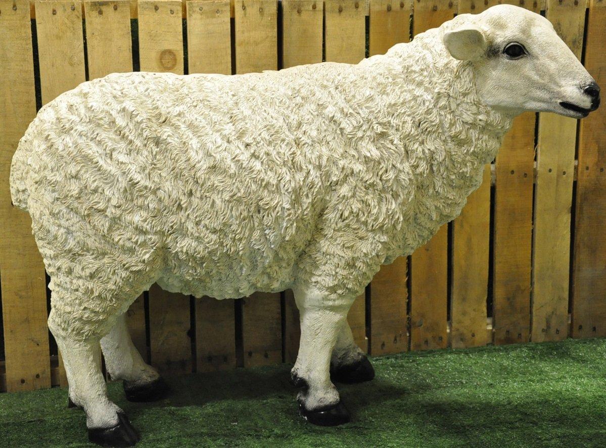 Full Size Resin Garden Sheep