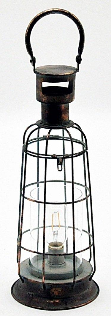 Antique Copper Garden Lantern 54cm