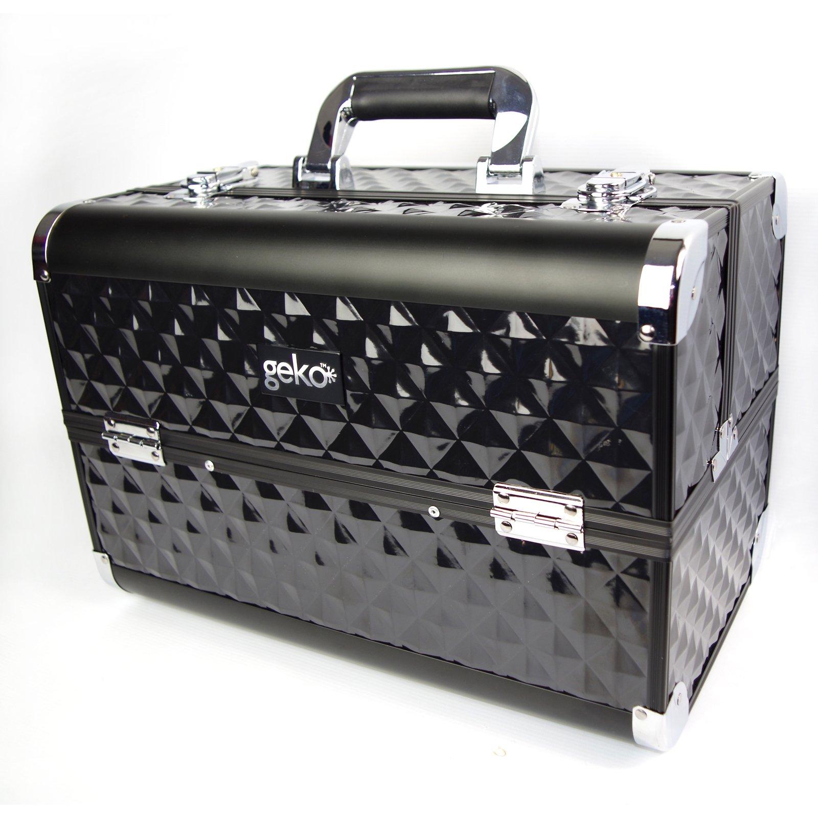 Vanity Case / Makeup Box Heavy Duty Black