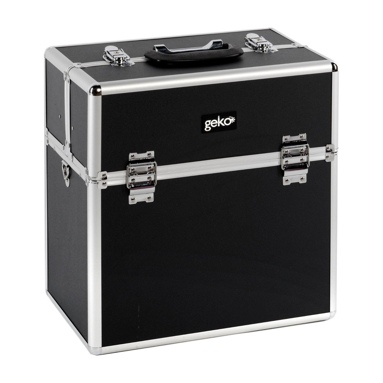 Vanity Case / Makeup Box Box Black