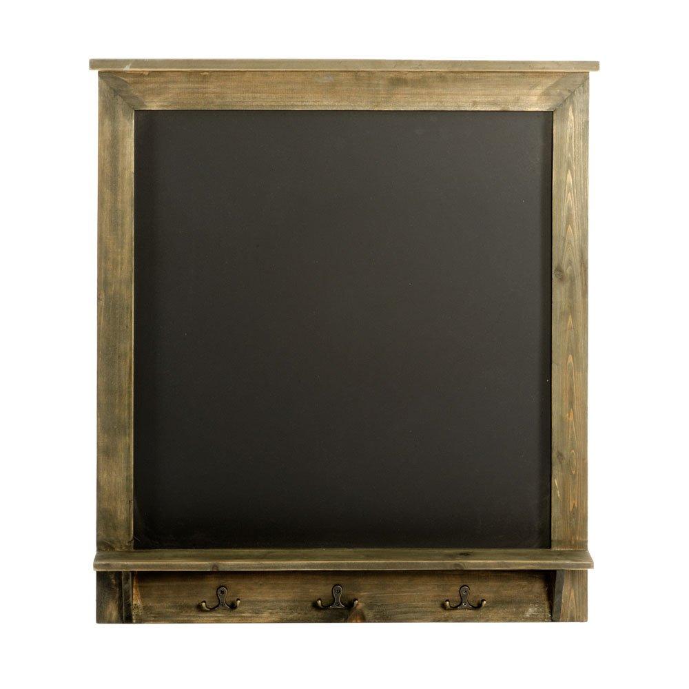 Vintage Chalkboard with Hooks 64 x 8 x 71 cm