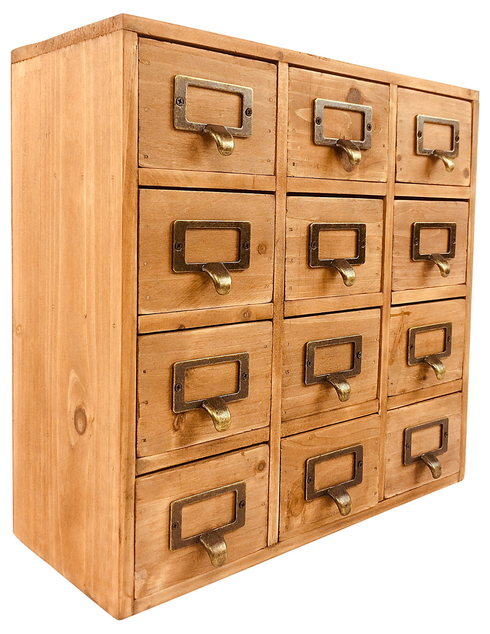 Storage Drawers (12 drawers) 35 x 15 x 34cm