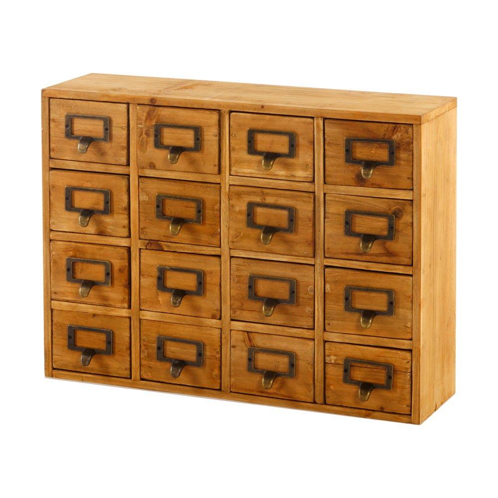 Storage Drawers (16 drawers) 35 x 15 x 46.5cm