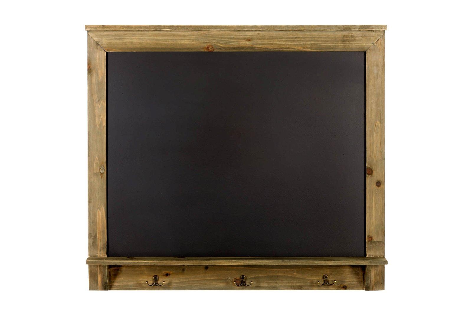 Blackboard with 3 Hooks 79 x 70cm