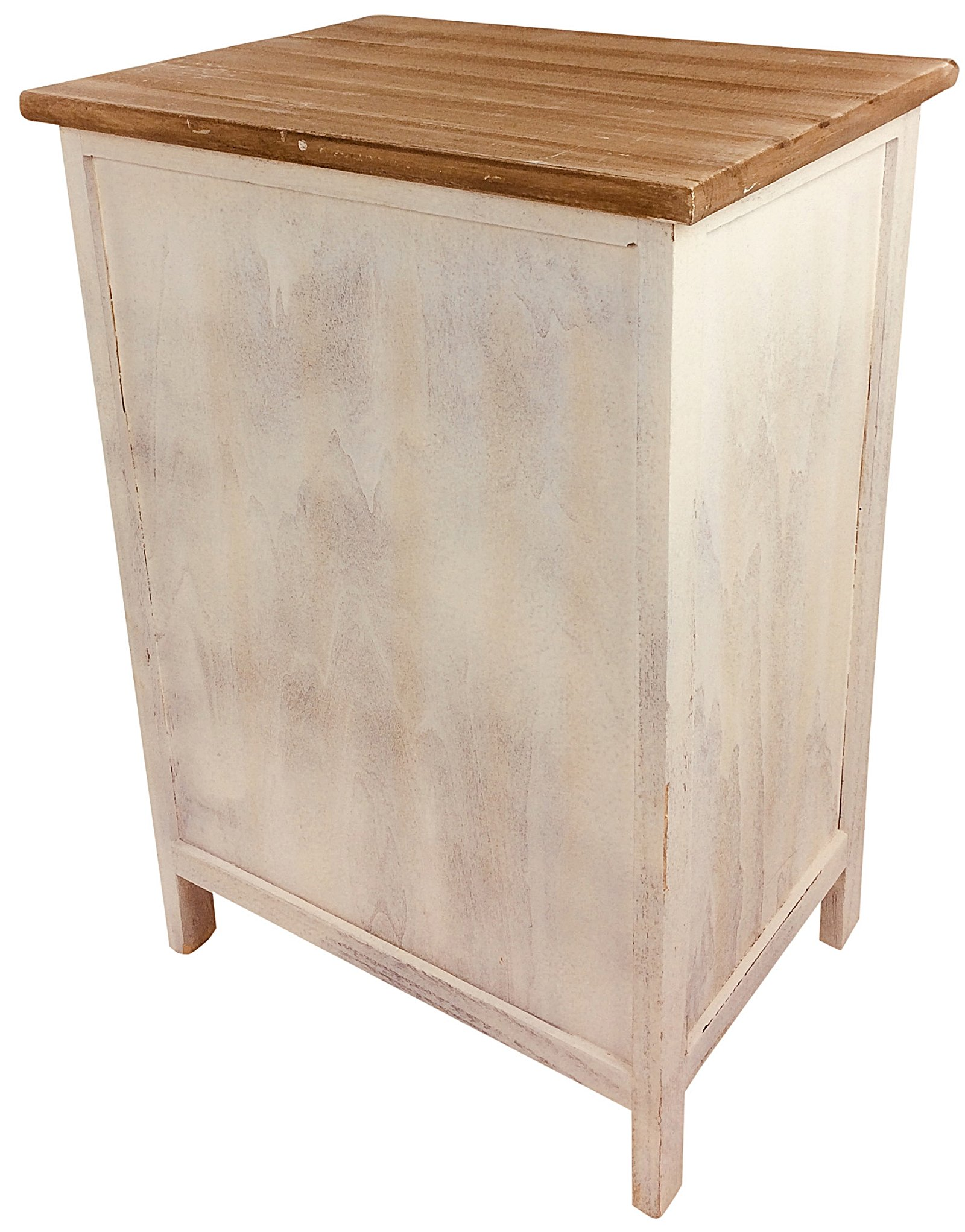 Wooden Love Heart Cabinet 58cm