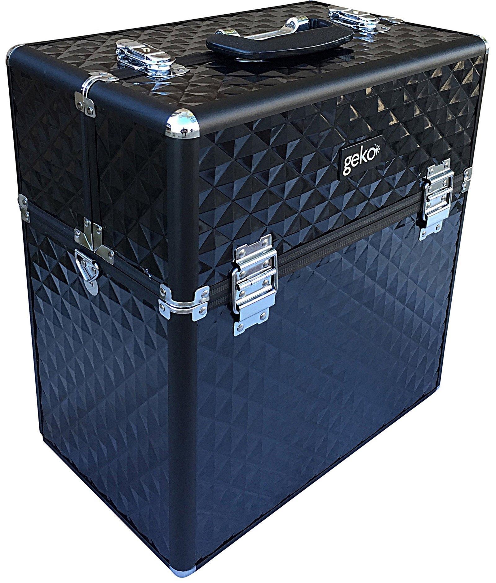 Vanity Case Black ABS 40cm
