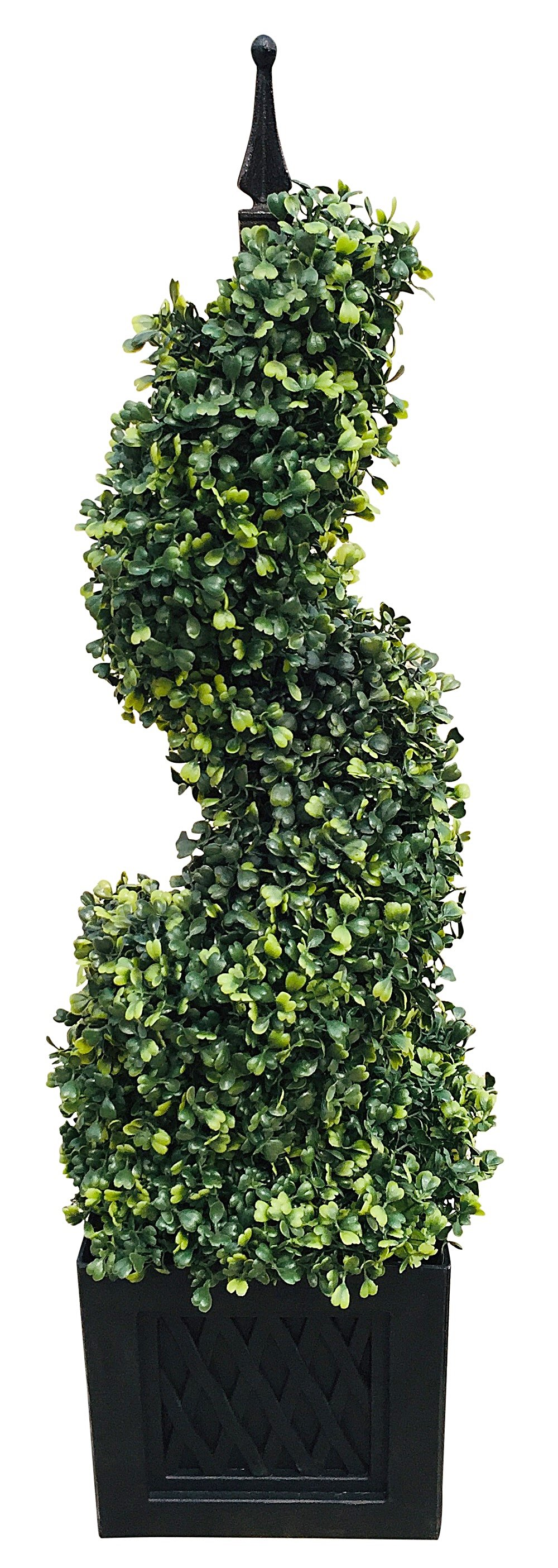 Artificial 80cm Boxwood Spiral Tower