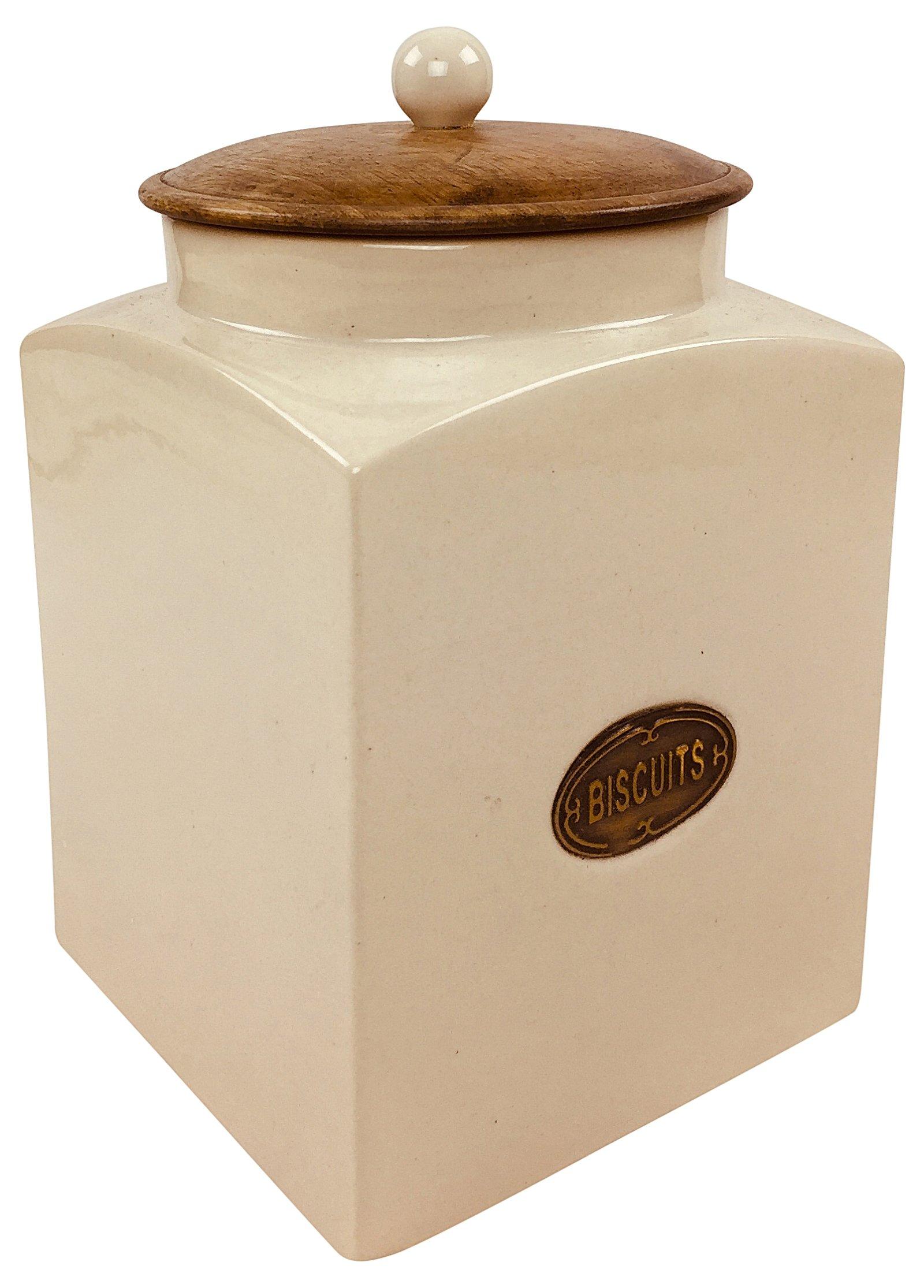 Ceramic Biscuit Jar